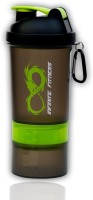 Infinite Fitness Compound Shaker 500 Ml Sipper (Pack Of 1, Green Soot)