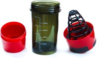 Excel C Cyclone Shaker 500 Ml Sipper (Pack Of 1, Black, Red)