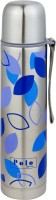 Polo Lifetime Slim 1000 Ml Flask (Pack Of 1, Blue, Purple)