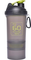 My 60 Minutes Gym Shaker 500 Ml Bottle (Pack Of 1, Green)