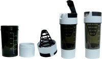 Excel C Cyclone White 500 Ml Shaker (Pack Of 1, White, Black)