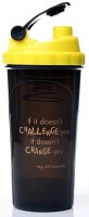 My 60 Minutes Gym Shaker 700 Ml Bottle (Pack Of 1, Yellow)