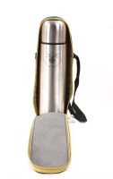 Eagle Home Gold Sleek 1000 Ml 1000 Ml Flask (Pack Of 1, Gold Steel)