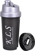 KLS Protein Shaker 500 Ml Sipper (Pack Of 1, Black)
