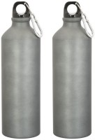 GADGE SPORTS BOTTLE MATT GREY 750 Ml Sipper (Pack Of 2, Grey)