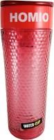 Homio Bubble Design Shaker P 450 Ml Bottle (Pack Of 1, Pink)