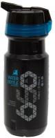 Btwin All Road Bottle 600 Ml Bottle (Pack Of 1, Black)