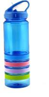 Avenue Blue Strip Sipper 750 Ml Bottle (Pack Of 1, Blue)