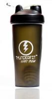 THUNDERFIT Shaker 750 Ml Sipper, Bottle, Shaker, Water Bag, Flask, Bottle Cage (Pack Of 1, Black)