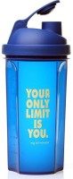 My 60 Minutes Gym Shaker 700 Ml Bottle (Pack Of 1, Blue)