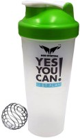 MorSporting Yes You Can Diet 600 Ml Shaker, Bottle (Pack Of 1, Multi)
