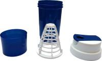UDAK Tornado 500 Ml Bottle, Shaker, Sipper (Pack Of 1, Blue, White)