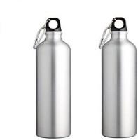 Phoenix Sports 750 Ml Bottle (Pack Of 2, Silver)