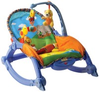 MeeMee Newborn to Toddler Portable Rocker Blue