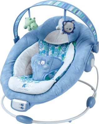 Bright Starts Blue Pebbles Bouncer Blue