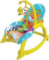 LuvLap Jungle Hut Toddler Rocker: Bouncer