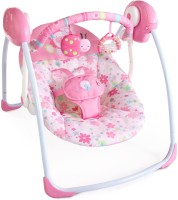 Bright Starts Blossomy Blooms - Portable Swing Pink