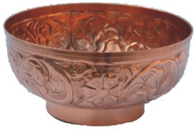 Veda Home & Lifestyle Copper Bowl