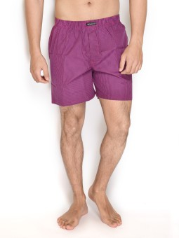 Wineberry Show Off Checkered Men's Boxer Pack Of 1 - BXRE6GAZ78U8HQFG