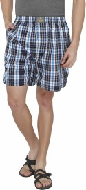 7thStreet Checkered Men's Boxer