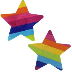 AayanBaby Multicolor Star Polyester, Spandex Peel and Stick Bra Petals