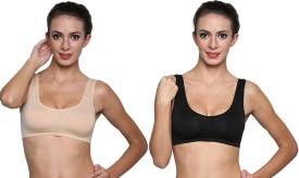 Golden Girl Air Bra-Blk,Skn Women's Sports Bra