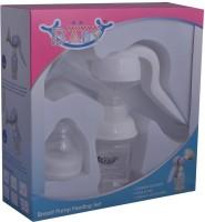 Mommas Baby Breast Pump Feeding Set  - Manual (White)