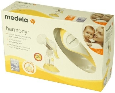 Medela Breast Pump - Harmony  - Manual (Multicolor)
