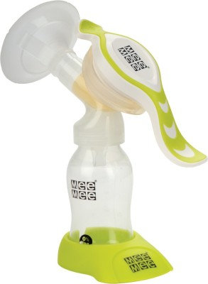 Mee Mee Expert Manual Breast Pump With Rotary Handle  - Manual (Green)