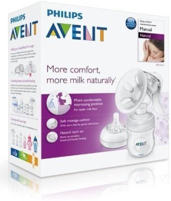Philips Avent Natural Comfort Manual Breast Pump BPA Free Brand New  - Manual (Clear)