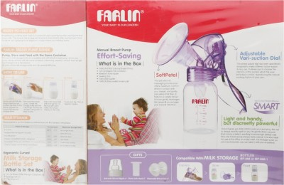 Farlin Effort Saving Manual Breast Pump  - Manual
