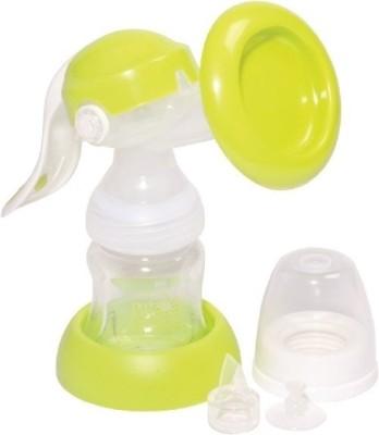 Mee Mee Adjustable Breast Pump  - Manual (White, Green)