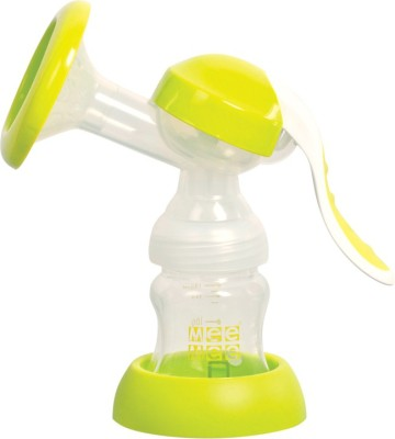 Mee Mee Adjustable Breast Pump  - Manual (White)