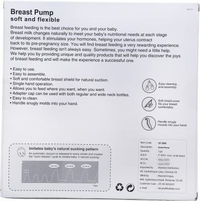1st Step Breast Pump  - Manual (Blue)