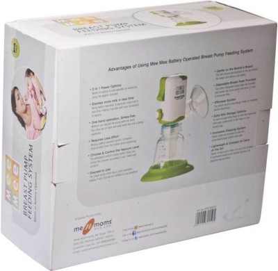 Mee Mee Breast Pump Feeding System  - Electric (White)