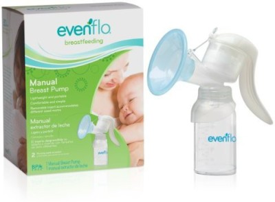 Evenflo Manual Breast Pump  - Manual (Silver)