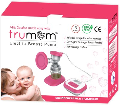 Dr.Trust Trumom Breast Pump  - Electric (Pink)