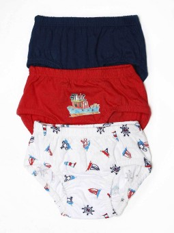 Mee Mee Baby Boy's B Sty 1 Briefspk 3 Brief Pack Of 3