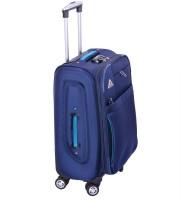 Supasac Supasac Polyster 24 Inch Soft-sided Dark Blue Suitcase Large Briefcase - For Men, Women Dark Blue