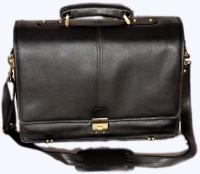 PE RBS01 Large Briefcase - For Men Black-01