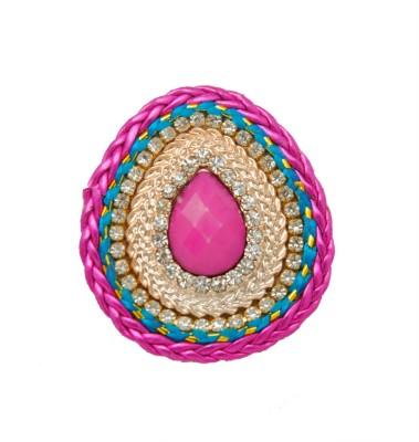 Jaipur Mart 2015 Hot Fashion Pink Color Brooch