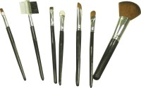 Keli Traditional Make-up Brush Set With Soft Bag (Pack Of 7)