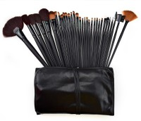 PrettyStar 32 Pcs Professional Cosmetic Makeup Brush Set Kit With Synthetic Leather Case (Pack Of 32)
