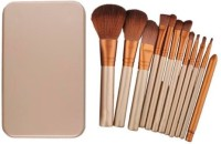 Puna Store 12 Piece Make Up Brush Set With Storage Box (Pack Of 1)