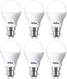 Optiglow 15W B22 LED Bulb (White, Pack of 6)