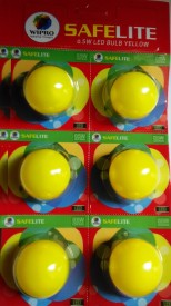0.5W-LED-Bulb-(Yellow-,-pack-of-6)-