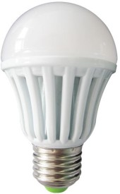 9W E27 Plastic Body White LED Bulb