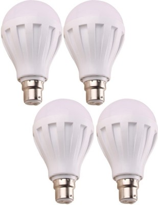 Ally-7W-B22-LED-Bulb-(White,-Set-Of-4)