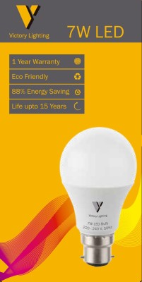 Victory-Lighting-7-W-B22-LED-Bulb-(White,-Pack-of-10)