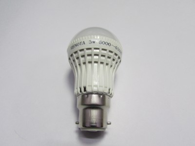 Led Lightings 3W 300 Lumens White LED Bulb